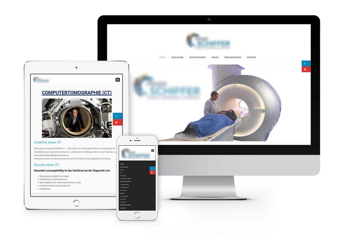 Webdesign Hennigsdorf für Radiologie in Hennigsdorf