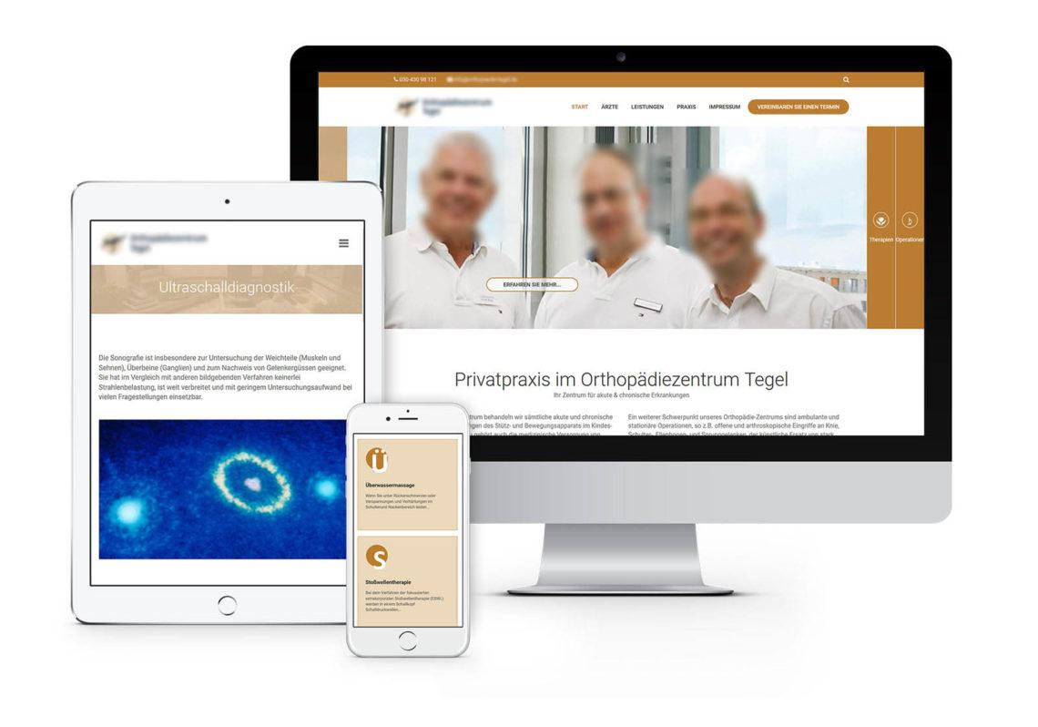 Webdesign für Berliner Arztpraxis