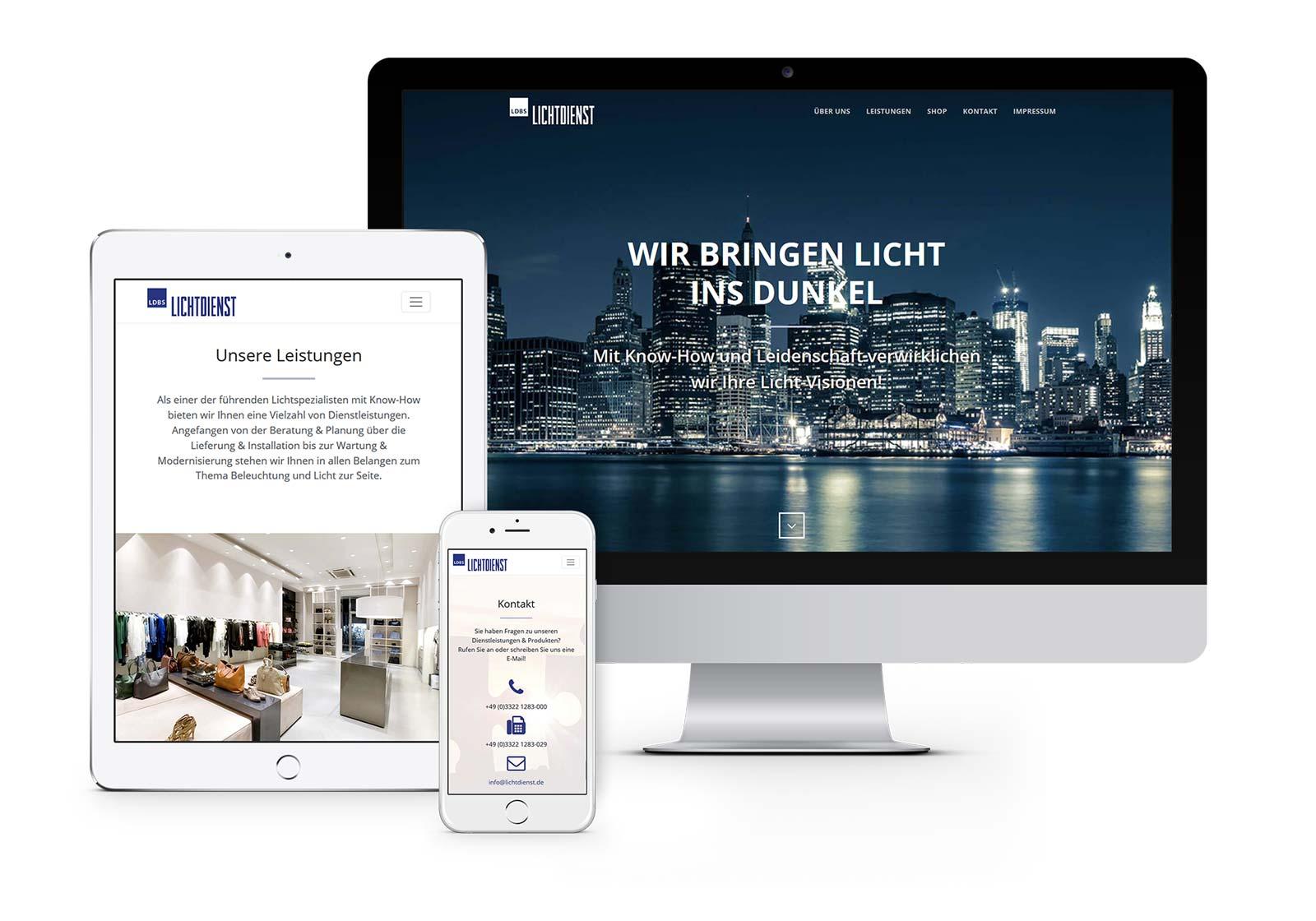 webdesign-hohen-neuendorf-ldbs-website