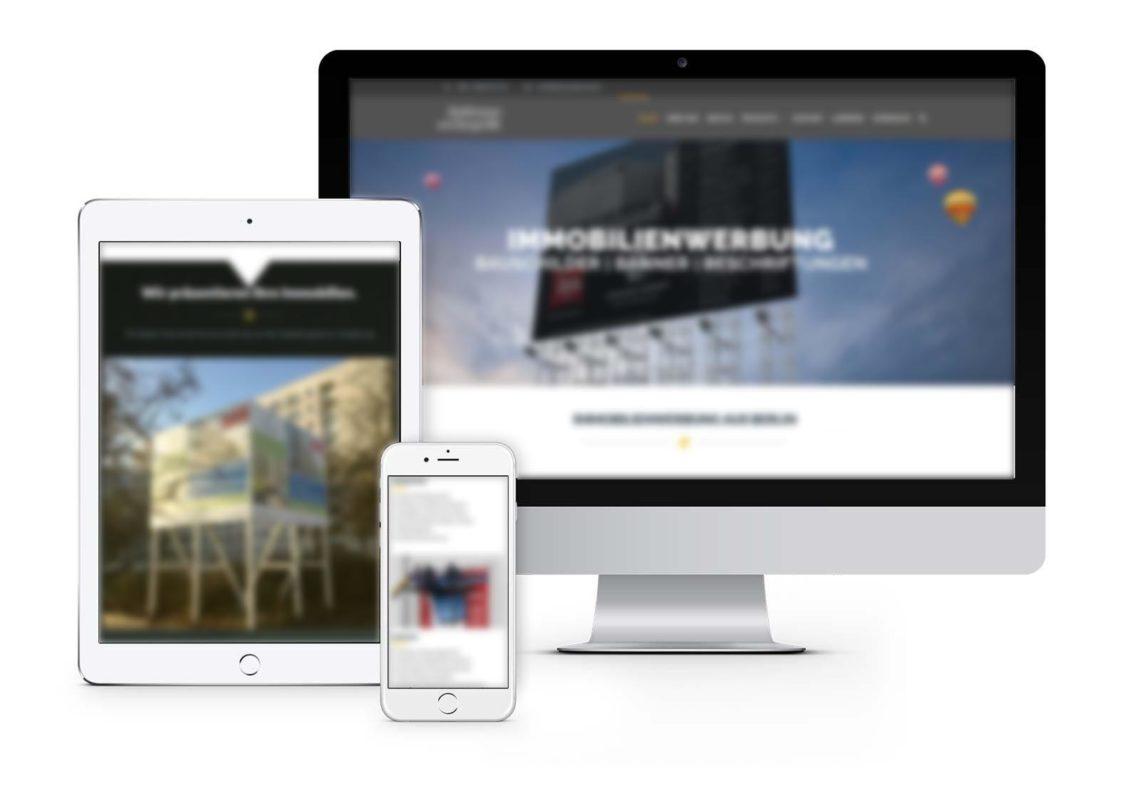 Webdesign Hennigsdorf für Bauschildhersteller