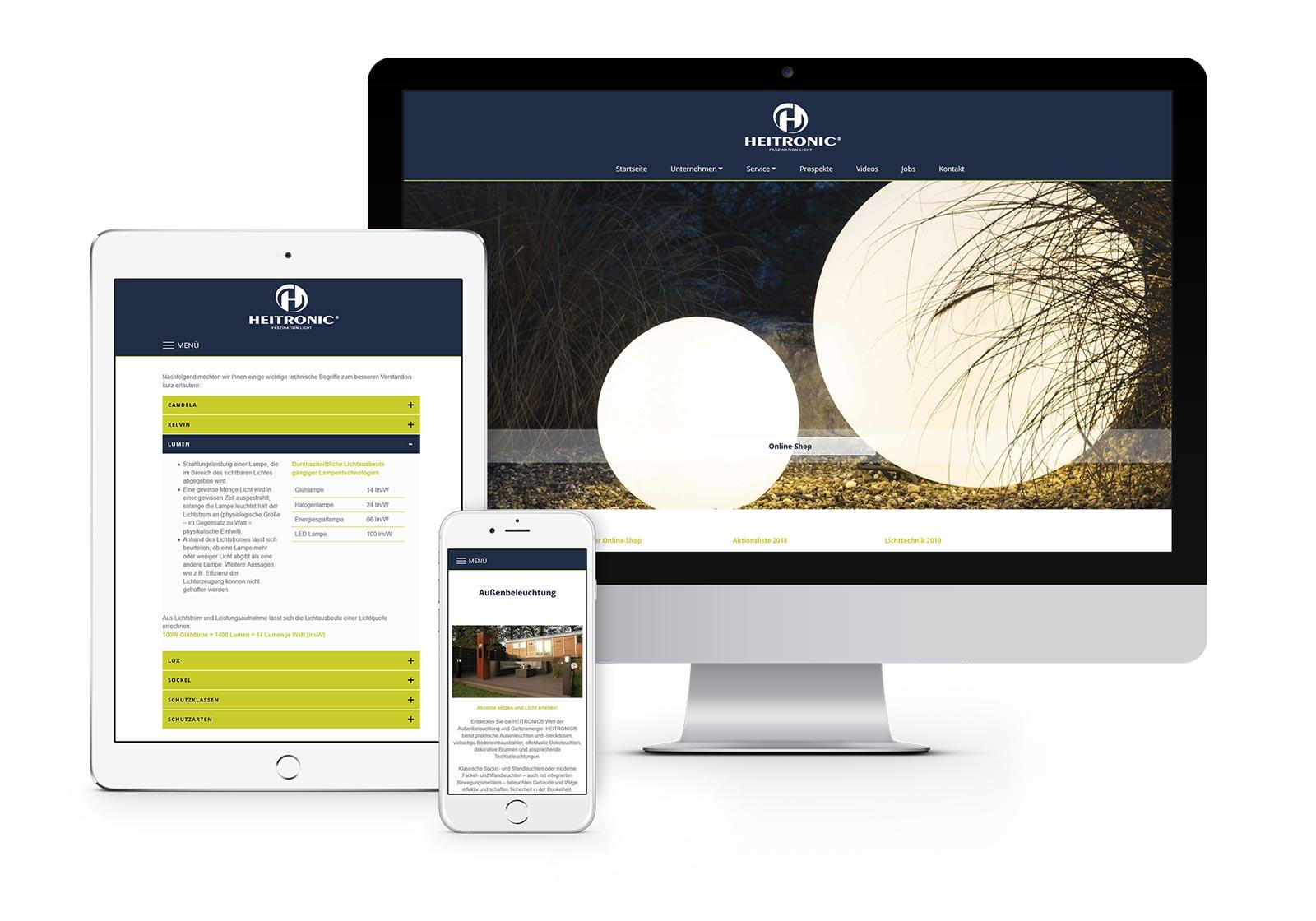 Webdesign Hennigsdorf - Website für H. Vollmer GmbH